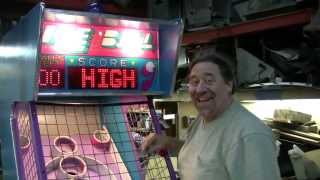 "#272 ICE ""ICE BALL"" Skeeball style Arcade Machine!  TNT Amusements"