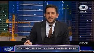 Santiago Bal - Diego Bonelli en Nunca es Tarde Fox Sports