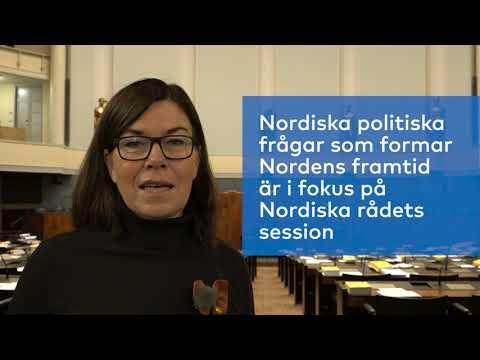 Britt Lundberg: Välkommen till Nordiska rådets session 2017!