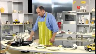 Печёнка жареная в панировке рецепт от шеф-повара / Илья Лазерсон / русская кухня
