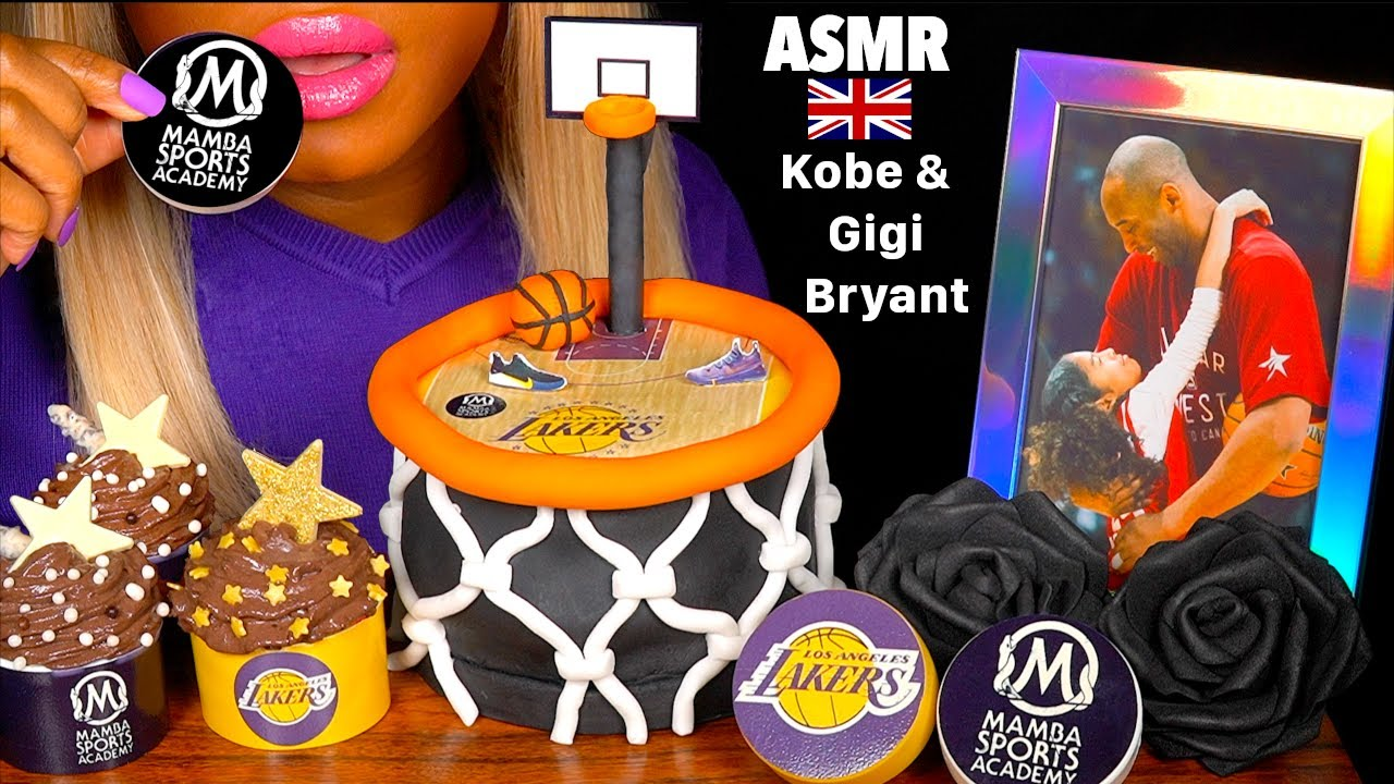 Asmr Celebrating Kobe Gigi Bryant Life Edible Basketball Court Cake Mamba Shoes Nike Mukbang ˨¹ë°© Youtube