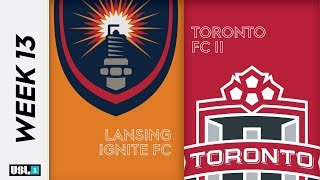 Lansing Ignite FC vs. Toronto FC II: June 19th, 2019