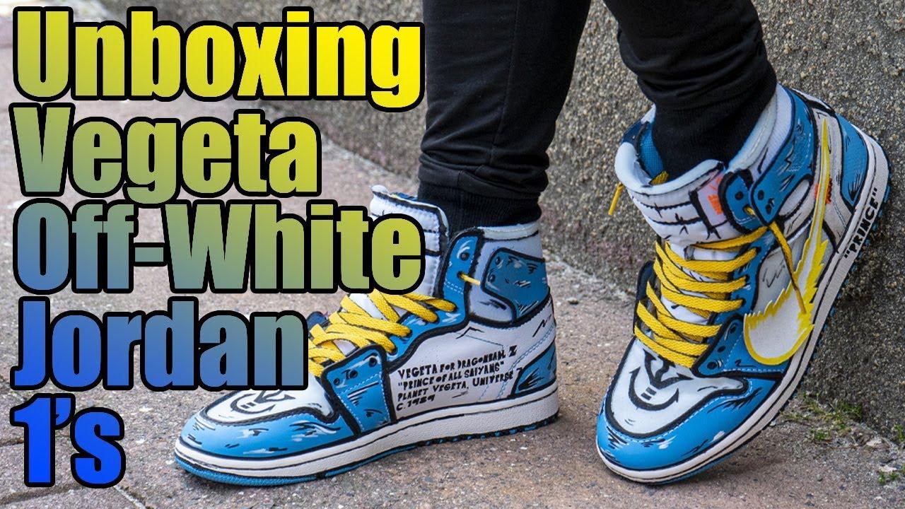 Unboxing Vegeta Off-White Jordan 1's