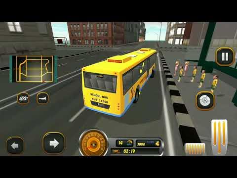 School Bus Driver Simulator 2018: City Fun Drive (By Game Blast Studio ) - HD Gameplay  