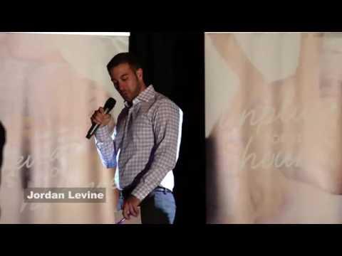 Jordan Levine Presenting the New Massage Envy Brand