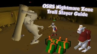 OSRS Nightmare Zone Troll Slayer Task Guide - Train Slayer with Nightmare Zone!