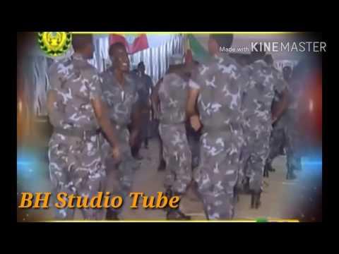 የኢትዮጵያ ፌድራል ፓሊሶች እስክስታውን ሲያስነኩት Ethiopian Federal police Dancing