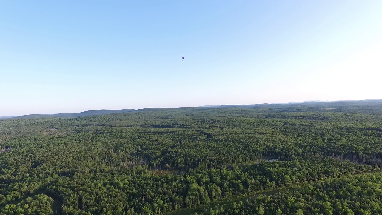 Flying in Maine