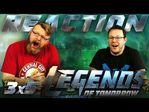 "Legends of Tomorrow 3x5 REACTION!! ""Return of the Mack"""
