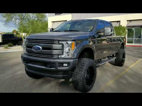 2017 F250 6.2 Gas Custom Lifted Magnetic Part 2