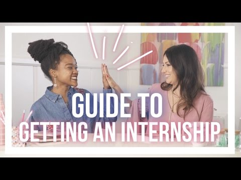 How to Get Your First Internship +GIVEAWAY (feat. Lauren Berger Founder of the Intern Queen)