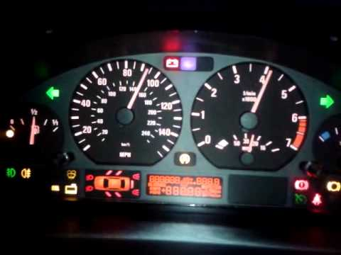 E46 OdometerDash display functions  YouTube