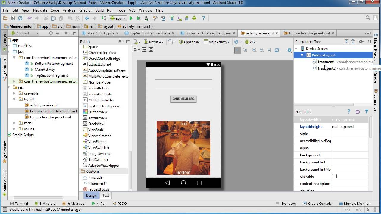 android app development for