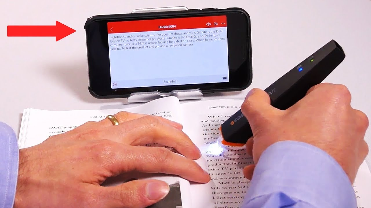 Best Wireless Pen Scanner (Scan text from paper to your Phone/Computer!)