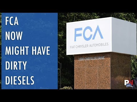 FCA May Now Have Dirty Diesels