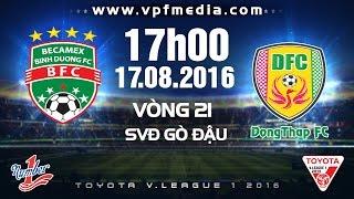 Binh Duong vs Dong Thap Cao Lanh full match