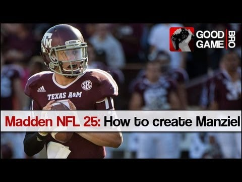 Madden NFL 25: How to create Johnny Manziel