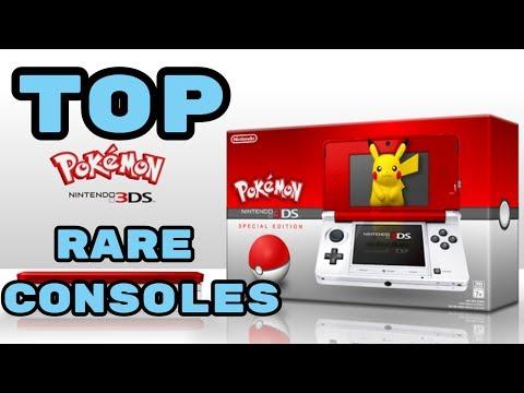Top 5 Rare Pokemon Consoles!