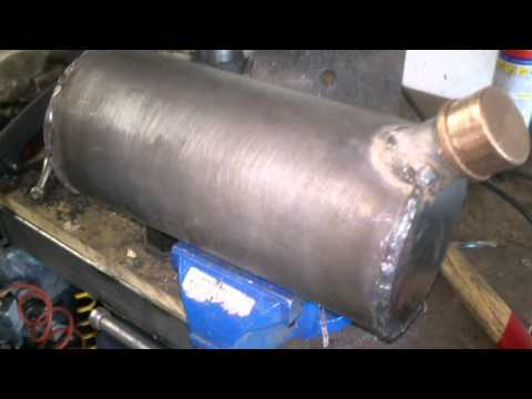 homemade oil tank   bobber project