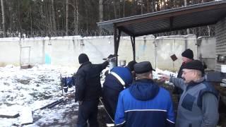 видео Горелка дизельная Lamborgini FIRE 9
