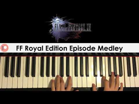 Final Fantasy Royal Edition Episode Medley (Piano Cover) | Patreon Dedication #345