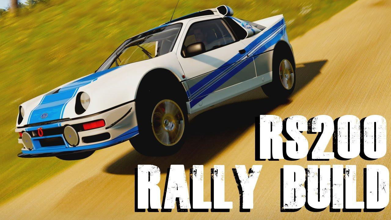 Ford Rs200 Rally Build Forza Horizon 2 Youtube