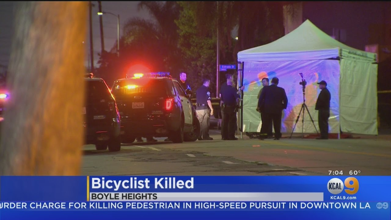 Bicyclist Killed By Semi-Tractor Truck Trailer Driver In Boyle Heights Hit-And-Run