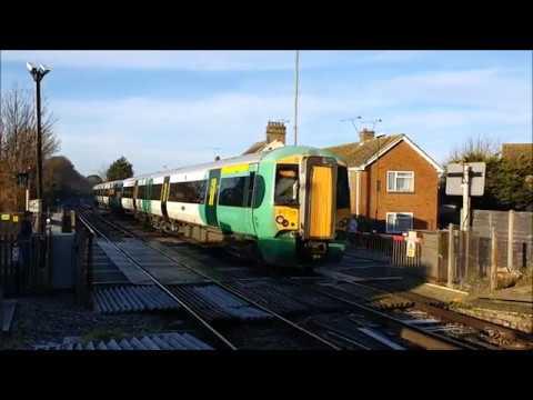 Trains at Angmering Railway Station - Thursday 18th January 2018