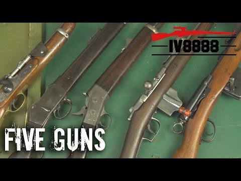 Top 5 Antique Rifles