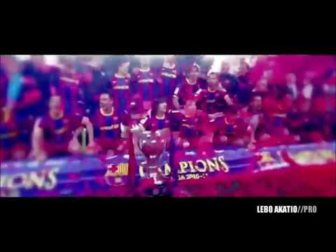 """FC Barcelona Viva la Vida """"Coldplay"""" by Lebo Akatio Pro"""
