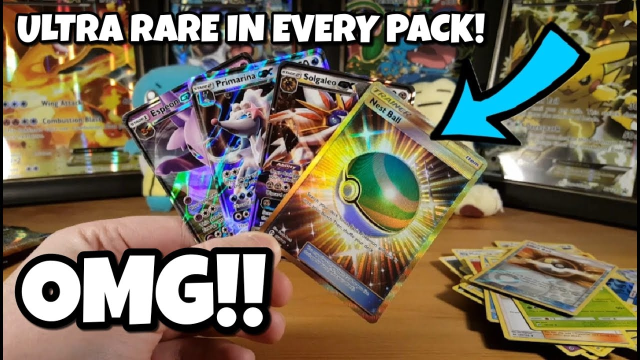 Another Try At Slark Ultra Rare: ULTRA RARE IN EVERY PACK!!! THE BEST POKEMON BOOSTER