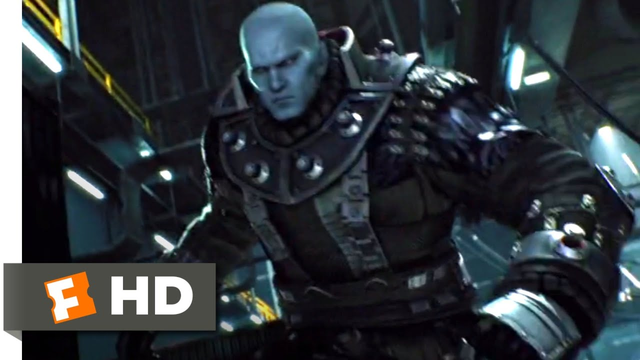Resident Evil Damnation 2012 Mr X Attack Scene 8 10