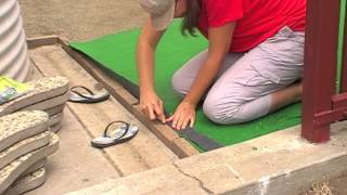 How to Install and Lay Artificial Grass or Synthetic Turf DIY Lawn