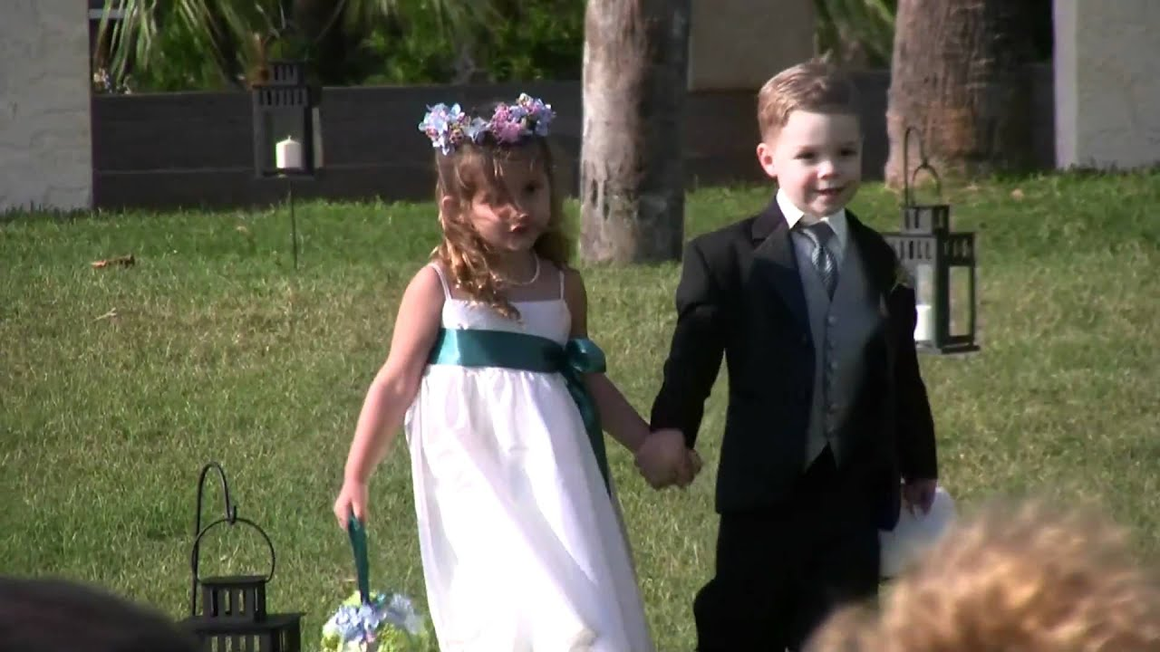 flower girl and ring bearer youtube