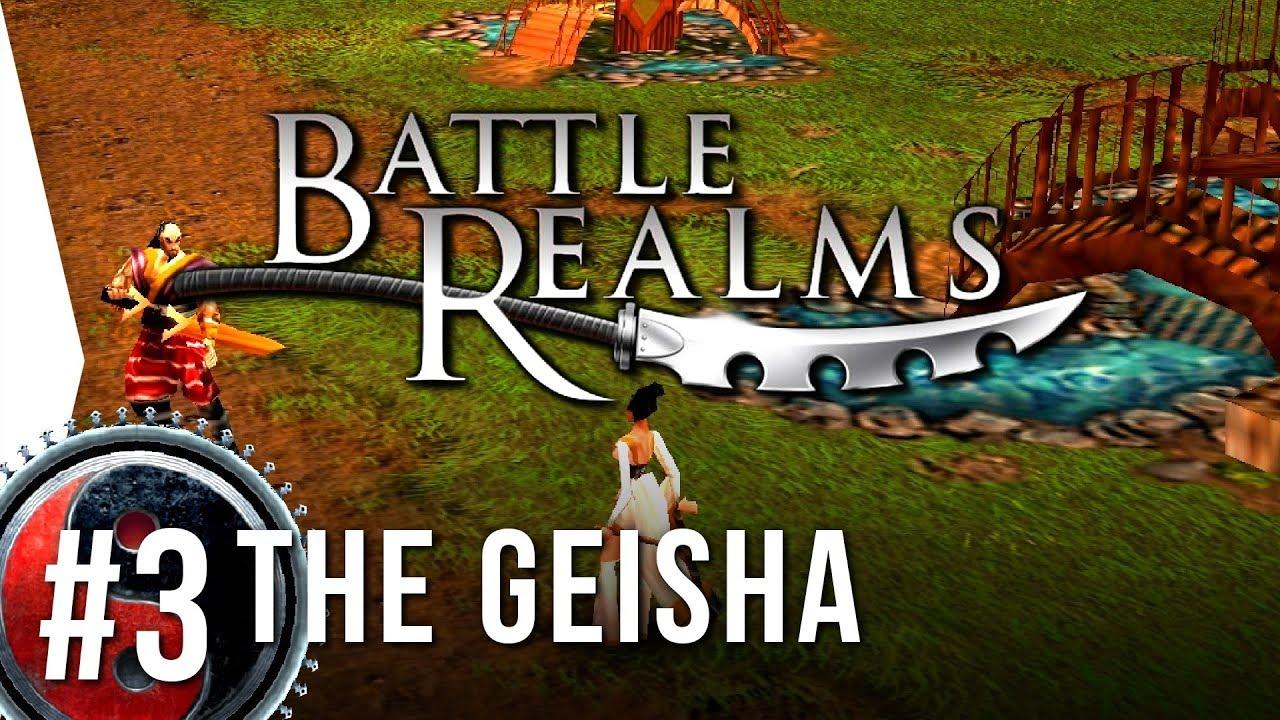 Battle Realms Hd 3 Geisha The Swan S Pool Widescreen Mod
