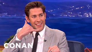 john krasinski funny interview