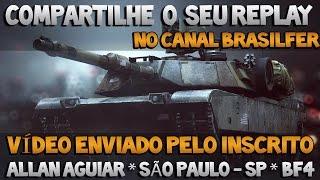 QUADRO SEU REPLAY NO CANAL - VÍDEO ENVIADO PELO INSCRITO ALLAN AGUIAR - SÃO PAULO - SP