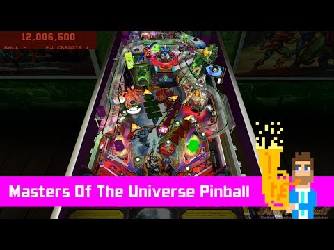 Masters Of The Universe Pinball by rom - Future Pinball