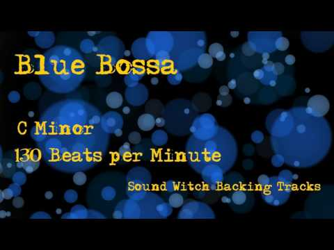 Backing Track - Blue Bossa - C Minor - 130 Beats per Minute