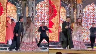 Shah Rukh Khan And Gauri Khan's Crazy Dance On Delhi Wali Girlfriend At Isha Ambani Sangeet