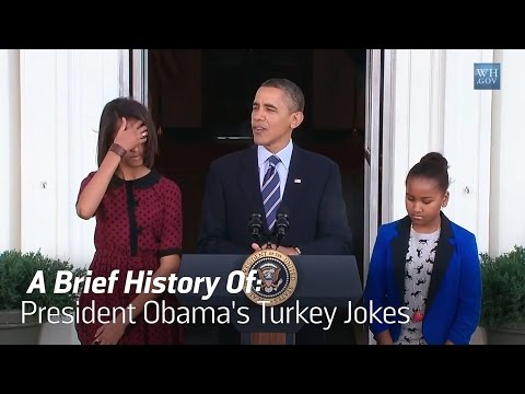 Obama Keeps Up The Tradition Of Lame Turkey Jokes