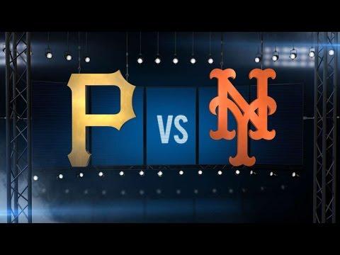 6/14/16: Taillon shuts Mets down in Bucs' 4-0 win
