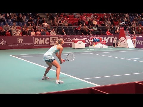 Maria Sharapova Vs Kirsten Flipkens WTA Paris Open 2014 Highligths HD