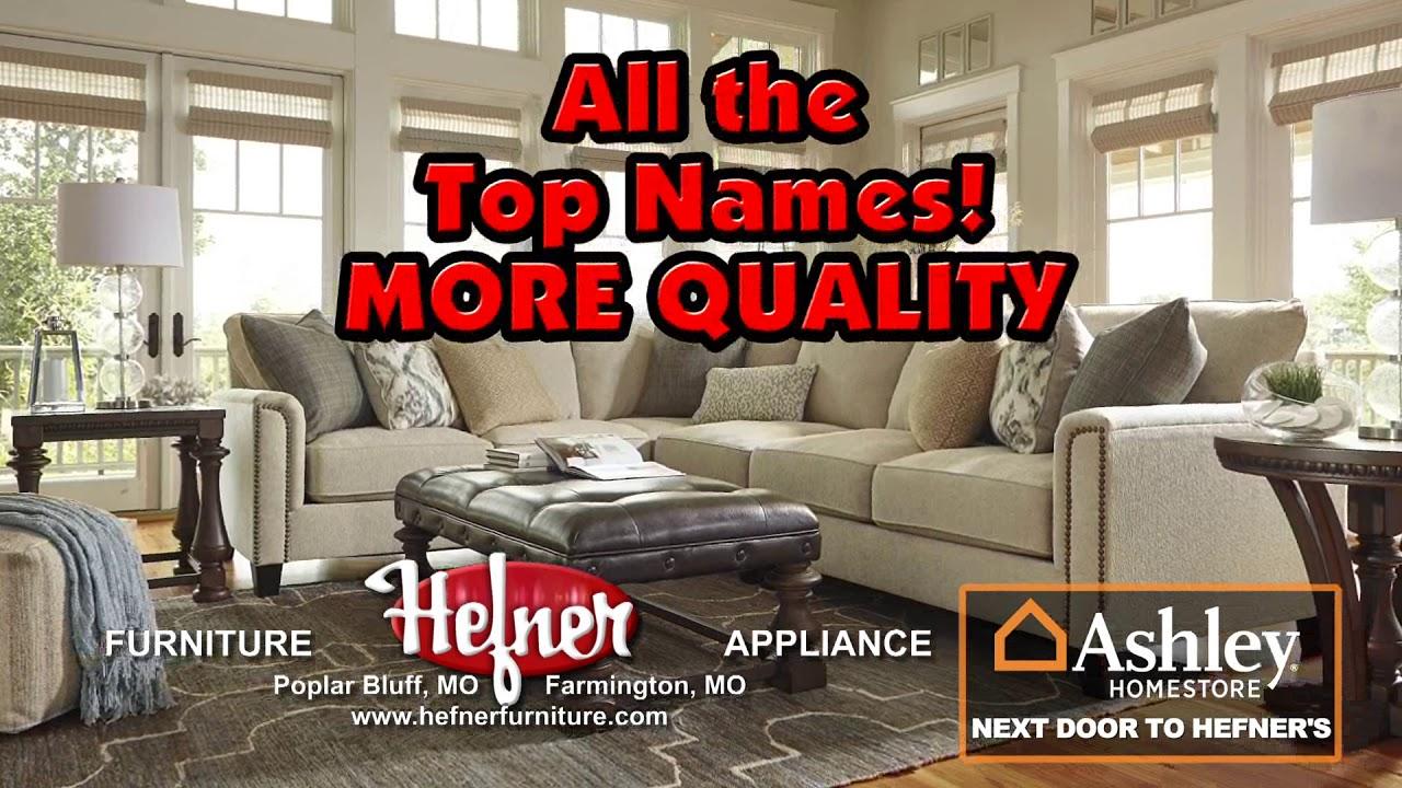 Why Shop At Hefner Furniture Appliance Youtube
