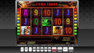 Слот игра CUBA(Игра: CUBA Описание: 9 линий, бесплатные фриспины с умножением http://re-casino.ru/ - система управления игровыми залам..., 2013-03-08T19:14:27.000Z)