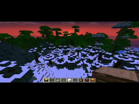 Minecraft 1.2 Snowy Jungle Biome seed