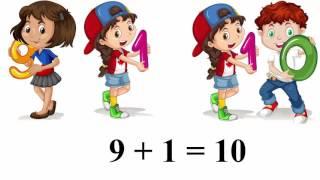 Урок 46. Математика 1 клас. Таблиці додавання і віднімання числа 1. Частина 2