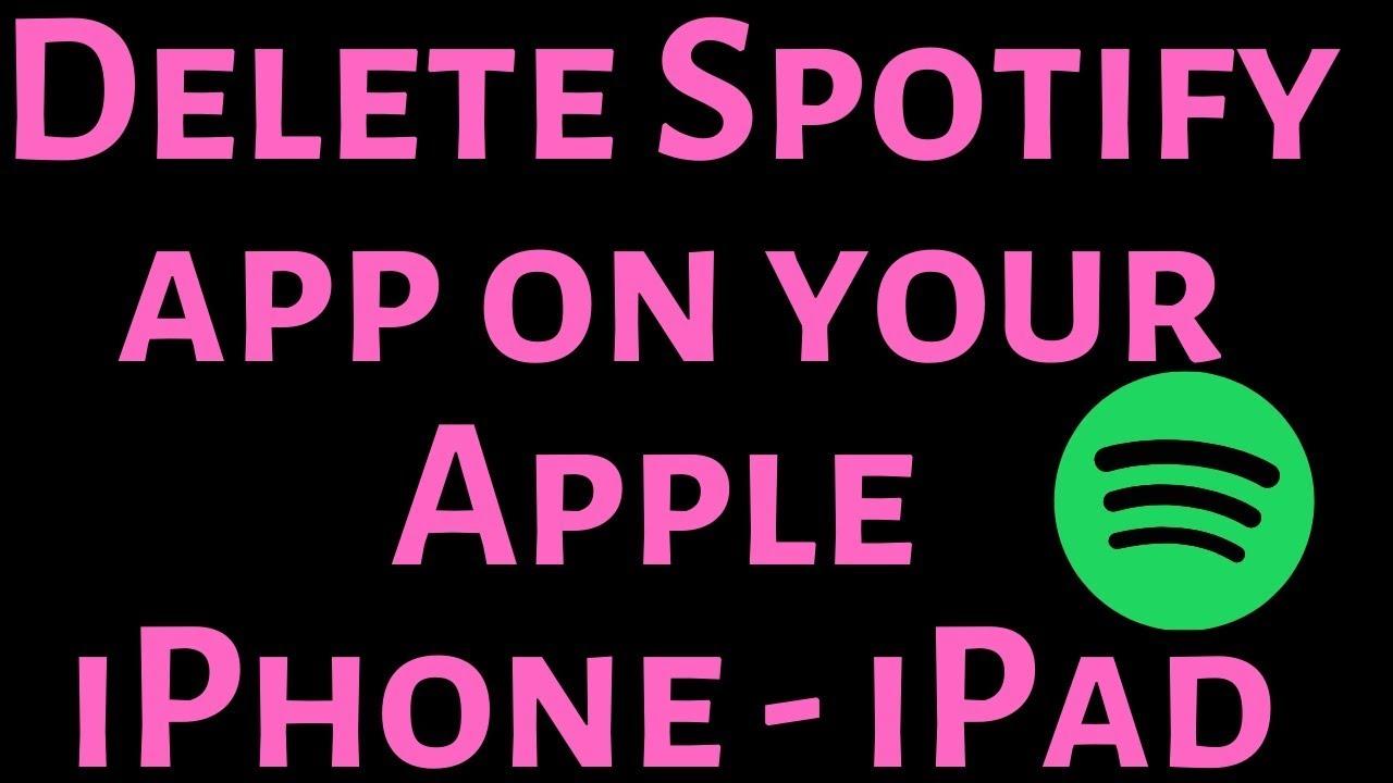 Delete Spotify App From Mac