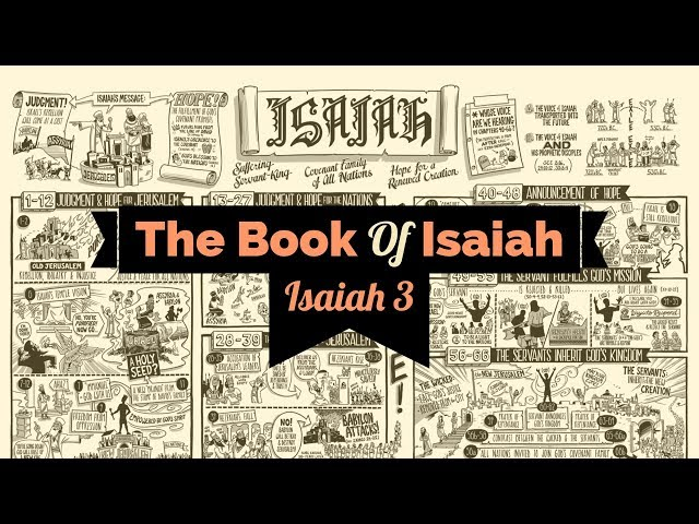 Isaiah Chapter 3 - Pastor Adam Blackstock