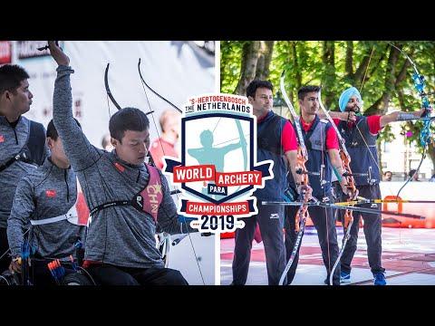 China V India – Recurve Men Open Team Bronze | Den Bosch 2019 World Para Championships